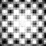 Black and white dots background in Halftone design. Vector illustration. Royalty Free Stock Photos