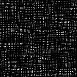 Black and white dots pattern, textile background, cotton seamless texture. Fabric textile material. Rag Rural backdrop. stock illustration