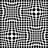 Black and white dots Royalty Free Stock Photography