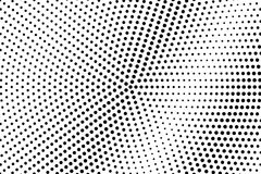Black and white dotted gradient. Contrast half tone  background. Retro dotted halftone. Monochrome retro texture. Black ink dot on transparent backdrop. Pop Stock Image