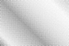 Black white dotted halftone  background. Faded subtle dotted gradient. Minimalistic halftone pop art design. Abstract halftone texture. Black ink dot vintage Royalty Free Stock Image