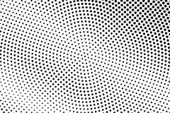 Black white dotted halftone  background. Pale dotted gradient. Monochrome halftone pop art design. Abstract grayscale halftone texture. Black ink dot vintage Royalty Free Stock Image
