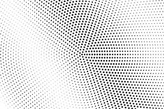 Black and white dotted halftone  background. Subtle diagonal dotted gradient. Abstract monochrome background. Black ink dotwork on transparent backdrop Stock Photography