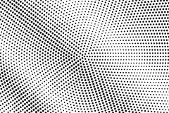 Black white dotted halftone. Half tone  background. Detailed diagonal dotted gradient. Abstract minimal texture. Black ink dot on transparent backdrop. Pop art Royalty Free Stock Image