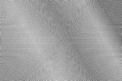 Black white dotted halftone. Half tone  background. Diagonal textured dotted gradient. Futuristic minimal texture. Black dot on transparent backdrop. Pop art Stock Photo