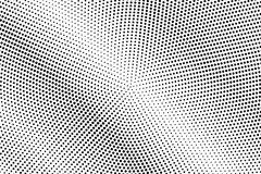 Black white dotted halftone. Half tone  background. Retro diagonal dotted gradient. Abstract minimal texture. Black ink dot on transparent backdrop. Pop art Royalty Free Stock Photography