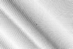 Black white dotted halftone. Half tone  background. Striped diagonal dotted gradient. Abstract minimal texture. Black ink dot on transparent backdrop. Pop art Royalty Free Stock Image