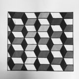 Black&White стоковое изображение rf