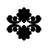 Black and white element. Royalty Free Stock Image