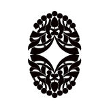 Black and white element. Royalty Free Stock Photos