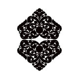 Black and white element. Royalty Free Stock Images