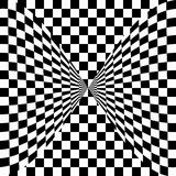 Black and white eye illusion Stock Image