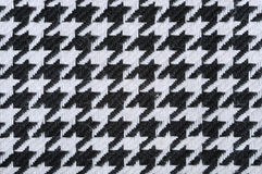 Black-and-white fabric Stock Images