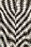 Black and white fabric in a geometric pattern Stock Photo