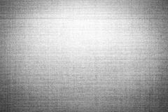 Black and white fabric gradient background Royalty Free Stock Photography