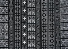 Black white  fabric pattern Stock Photo