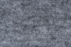 Black and white fabric texture. Background Stock Photo
