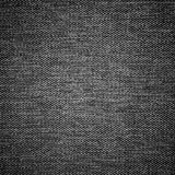 Black and white a fabric texture Royalty Free Stock Images