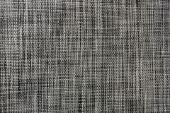 Black and white fabric texture with a pattern Royalty Free Stock Images