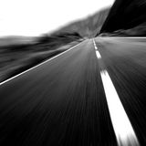 Black & White Fast Speed !! Stock Photos