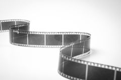 Black and white film Stock Photo