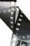 Black and white film strip Stock Photo