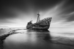 Shipwreck Dimitrios at Gytheio, Greece