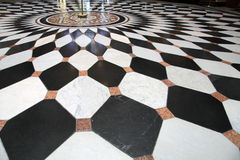 Black and white floor stock photos