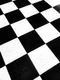 Black and white floor tile Royalty Free Stock Photos