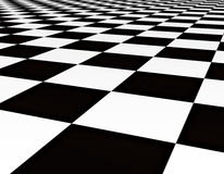 Black and white floor tiles Stock Photo