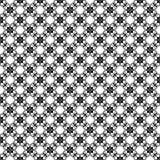 Black and white flora pattern Stock Photos