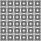 Black and white floral seamless wallpaper Royalty Free Stock Photography