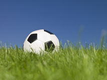 Black and white football Stock Images