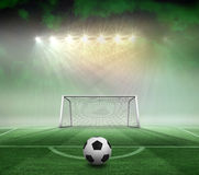 Black and white football Royalty Free Stock Photos