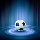 Black and white soccer ball Stock Photo