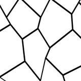 Black and White Fragmentation Background Royalty Free Stock Photo