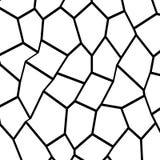 Black and White Fragmentation Background Stock Image
