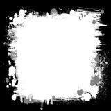 Black and white frame Royalty Free Stock Photography