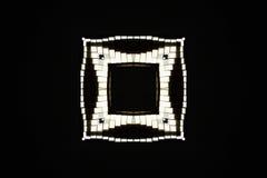 Black and white frame. A black and white frame pattern Stock Photography