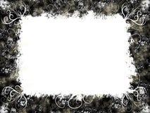 Black/white frame Royalty Free Stock Photos
