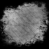 Black and white frame Royalty Free Stock Photo