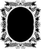 Black and white frame Stock Photo