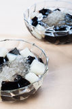 Black and white gelatine Stock Photography