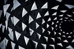 Black and white geometric background Royalty Free Stock Photo