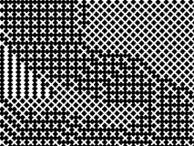 Black and white geometric background with lines, squares, rectangles. Vector illustration. Black and white geometric background with lines, squares, rectangles royalty free illustration