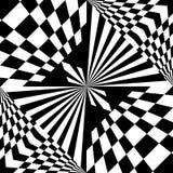 Black and white geometric background Stock Image