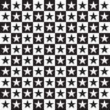 Black and white geometric Royalty Free Stock Photography