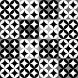 Black and white geometric pattern. Abstract black and white geometric pattern Stock Photo