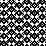 Black and white geometric pattern Stock Images