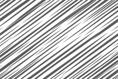 Black and white geometric pattern. Seamless abstract background. Vector stripe, lines. Horizontal speed line pattern. Black and white geometric pattern Royalty Free Stock Images